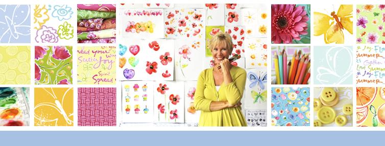 Kathy Davis, artist, exclusive ecard art for American Greetings.