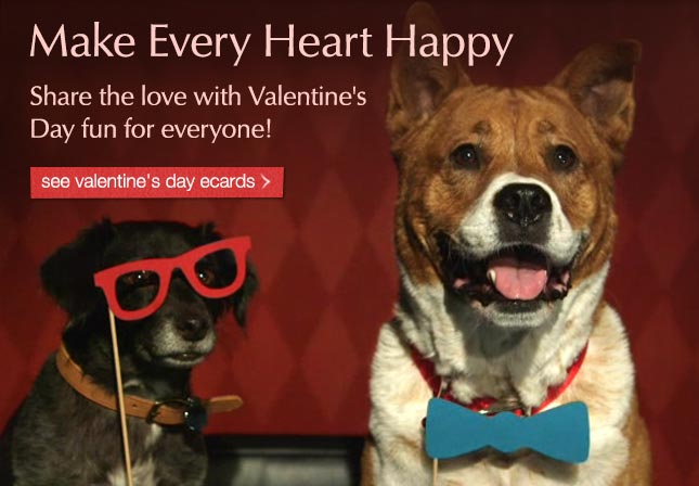 Make Every Heart Happy - Share the love with Valentine's Day fun for everyone! See ecards