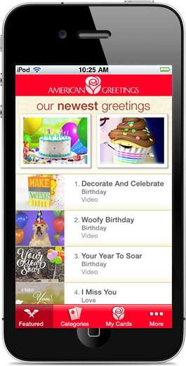 The American Greetings iPhone App
