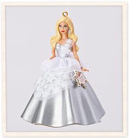 2014 Barbie Ornaments American Greetings