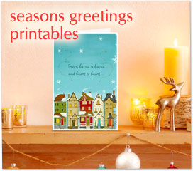 seasons greetings printables