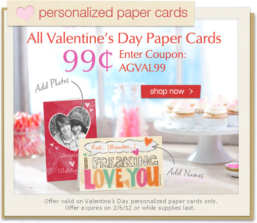 Personalized Paper Cards