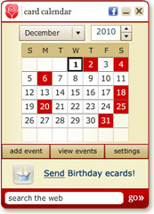 Desktop Calendar & Birthday Reminder Service | American