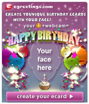 Free Birthday Card With Photo Insert Vinny Oleo Vegetal Info