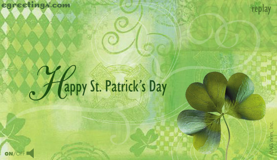 St Patrick's Day ecards