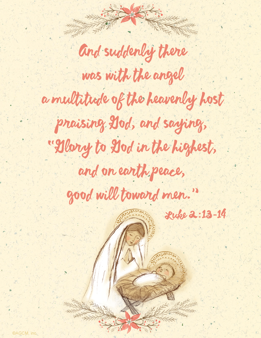 Printable Christmas Bible Verses, FREE Christmas Scripture Gift Tags ...