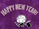 A New Year Toast<br>(song) New Year's Day eCards