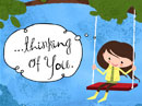 Thoughts of You Bring Smiles Dating eCards