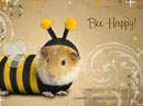 Bee Happy Halloween eCards