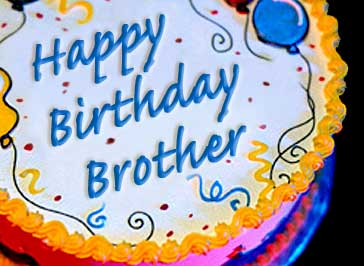 Bday Cakes Images For Brother : Happy Birthday Wishes For Brother Quotes. QuotesGram