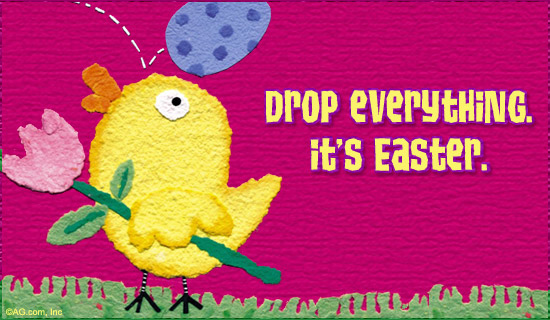 cute happy easter images. Happy Easter!