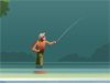 Gone Fishing  -- Free Traditional Animated Nature, Screensavers from American Greetings