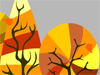 The Changing Seasons  -- Free Celebrate Fall Animated, Screensavers from American Greetings