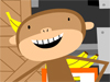 Monkey Around  -- Free Funny Animated Animal, Screensavers from American Greetings