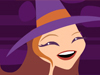 Magical Halloween  -- Free Cute Animated, Screensavers from American Greetings