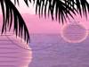 Tropical Lights  -- Free Just Because Beach,Just Because  Nature Screensavers from American Greetings