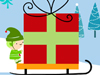Elf TV Time  -- Free December, Screensavers from American Greetings