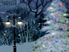 Town and Country Christmas  -- Free Traditional Holiday Nature, Screensavers from American Greetings
