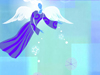 Kind-hearted Angel  -- Free Cute Seasons Greetings,Cute  Holiday Screensavers from American Greetings