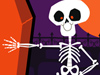 Boogie Bones  -- Free Halloween, Holiday Screensavers from American Greetings