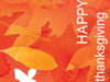 Falling Leaves  -- Free Thanksgiving, Holiday Screensavers from American Greetings