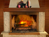 A Cozy Fire  -- Free Traditional Celebrate the Season, Screensavers from American Greetings