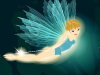 Forest Fairy  -- Free Traditional Sugarqube Nature, Screensavers from American Greetings
