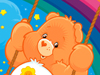 Swingin' Good Time  -- Free Cute Care Bears Static, Desktop Wallpapers from American Greetings