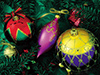Christmas Ornaments  -- Free Holiday Static, Desktop Wallpapers from American Greetings