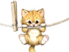Hang in There!  -- Free Cute Pets Animal, Desktop Wallpapers from American Greetings