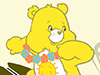 Surf's Up!  -- Free Care Bears Animal, Desktop Wallpapers from American Greetings