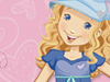 A Girl with Heart  -- Free Cute Holly Hobbie, Desktop Wallpapers from American Greetings