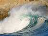 Crashing Wave  -- Free Beach, Nature Desktop Wallpapers from American Greetings