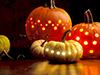 Halloween Lights  -- Free , Desktop Wallpapers from American Greetings