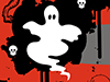 Here Come the Freaks  -- Free Traditional Halloween,Traditional  Holiday Desktop Wallpapers from American Greetings
