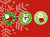 Snowglobes  -- Free Cute December, Desktop Wallpapers from American Greetings