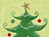 O Christmas Tree  -- Free Christmas, Holiday Desktop Wallpapers from American Greetings