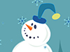 Happy Snowman  -- Free Just Because Nature, Desktop Wallpapers from American Greetings