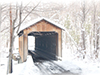 Covered Bridge  -- Free Traditional Celebrate Winter, Desktop Wallpapers from American Greetings