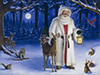 Father Christmas  -- Free December, Desktop Wallpapers from American Greetings