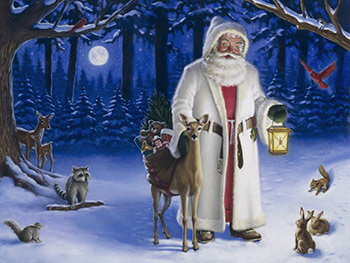father christmas wallpapers free wallpapers desktop