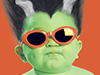 Frankenbaby  -- Free Funny October, Desktop Wallpapers from American Greetings