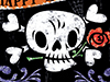 Skull and Crossbones  -- Free Traditional October, Desktop Wallpapers from American Greetings