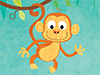 Monkey Around  -- Free Monkey, Animal Desktop Wallpapers from American Greetings