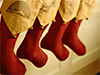 Stockings and Snowflakes  -- Free Seasons Greetings, Holiday Desktop Wallpapers from American Greetings