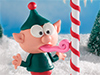 Tongue-tied  -- Free Cute Christmas,Cute  Holiday Desktop Wallpapers from American Greetings