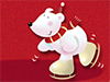 Bear on Ice  -- Free Cute Celebrate Winter, Desktop Wallpapers from American Greetings