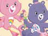 Floweriffic!  -- Free Care Bears, Desktop Wallpapers from American Greetings