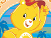 Aloha Funshine!  -- Free Care Bears Beach,Care Bears  Nature Desktop Wallpapers from American Greetings