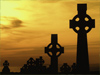 Celtic Crosses  -- Free Nature St. Patricks Day,Nature  Holiday Desktop Wallpapers from American Greetings